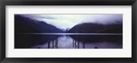 Framed Serene Dock II - grande
