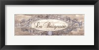 Framed La Baignoire Sign - mini