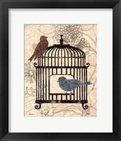Framed Birds & Blooms II