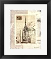 Framed NY Sketchbook