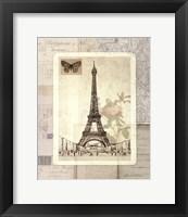 Framed Paris Sketchbook