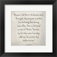 Framed More Than Mother by Edgar Allan Poe