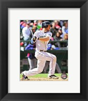 Framed Dustin Ackley 2013 Action