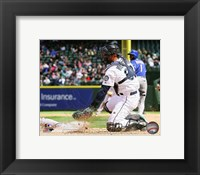Framed Jesus Montero 2013 Action