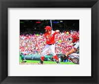Framed Bryce Harper 2013 Action