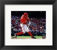 Framed Ryan Zimmerman 2013 baseball