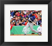 Framed Ben Zobrist Batting 2013