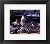 Framed Matt Kemp 2013 Los Angeles Dodgers