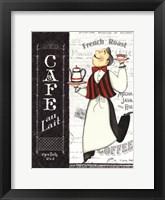 Framed Cafe Waiter