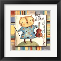 Framed Hey Diddle Diddle