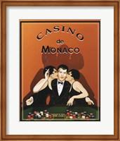 Framed Casino de Monaco