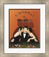 Framed Casino de Monaco