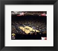 Framed Carver-Hawkeye Arena University of Iowa Hawkeyes 2012