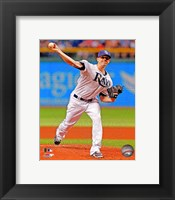 Framed Jeremy Hellickson on field 2013