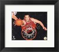 Framed Joakim Noah 2012-13 Playoff Action