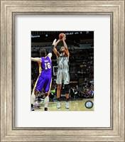 Framed Tim Duncan 2012-13 Playoff Action