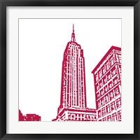 Red Empire Framed Print