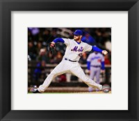 Framed Jonathon Niese 2013 in action