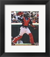 Framed Carlos Santana 2013 Action