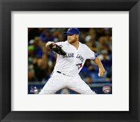 Framed Mark Buehrle 2013 Action