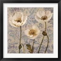 Framed Damask Blooms V