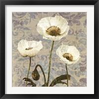 Framed Damask Bloom VI