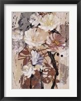 Framed Floral Flair IV