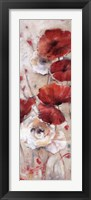 Poppies Afield II Framed Print