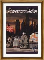 Framed Power that serves the Nation