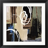 Framed Abstract Collage IV