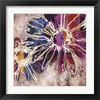 Framed Floral Kick I