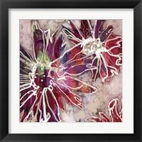 Framed Floral Kick II