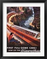 Framed Hiawatha 1953