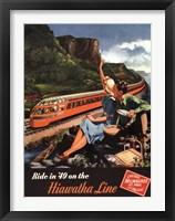 Framed Hiawatha 1949