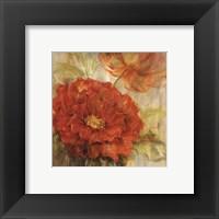 Framed Calypso Reds I