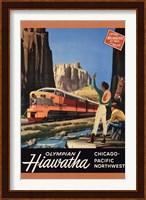 Framed Hiawatha 1952