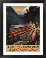 Framed Hiawatha 1956