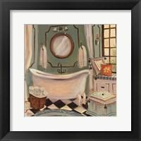 Designer Bath IV Framed Print