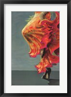 Flamenco Fiesta I Framed Print