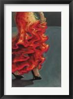 Flamenco Fiesta II Framed Print