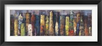 City Towers I Framed Print