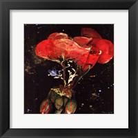 Framed Botany Fleur IV