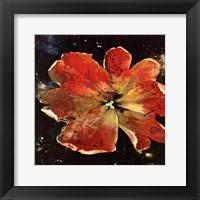Framed Botany Fleur V