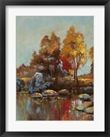 Silent Colours IV Framed Print
