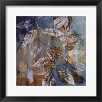 Framed Jewelled Leaves XII