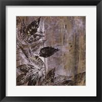 Framed Jewelled Leaves XXI