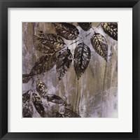 Framed Jewelled Leaves XXIII
