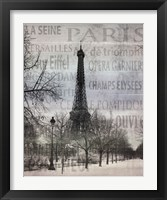 Framed Paris II