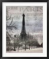 Framed Paris II