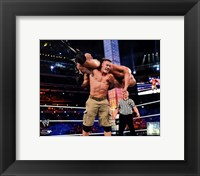 Framed John Cena Wrestlemania 29 Action